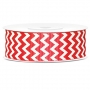 Cinta Chevron color Rojo
