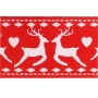 Cinta Satinada Reindeer Red (2 mts)