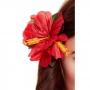 Clip para el Pelo Hibiscus Roja