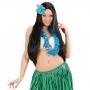 Collar Hawaiano Azul Claro