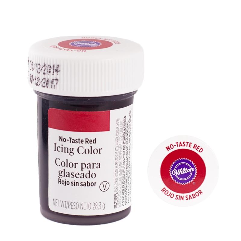 Colorante en gel Red no taste - My Karamelli