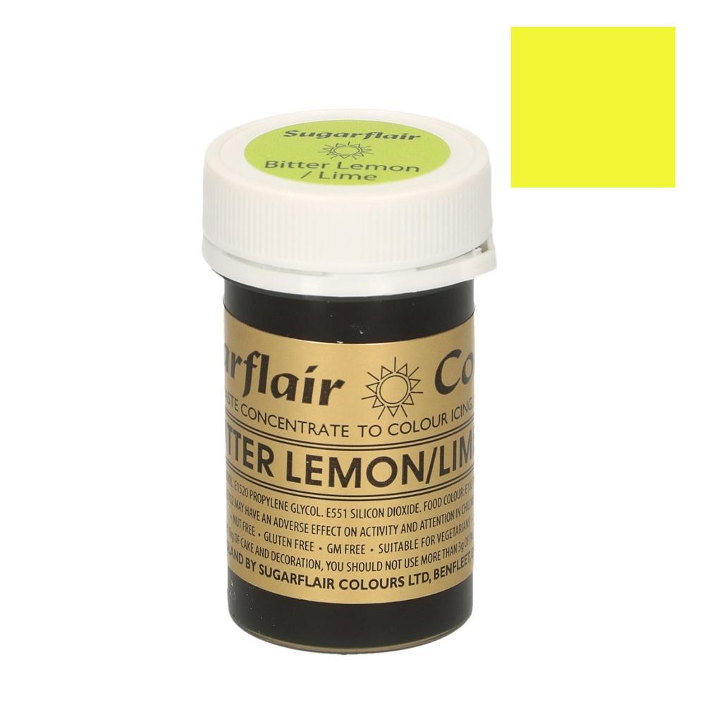 Colorante en pasta Sugarflair Lima Limón