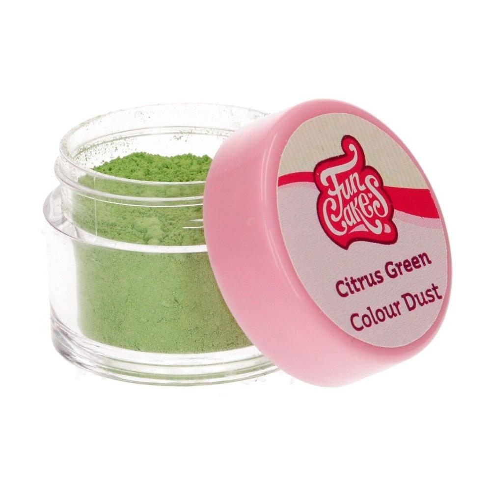 Colorante en polvo Citrus Green