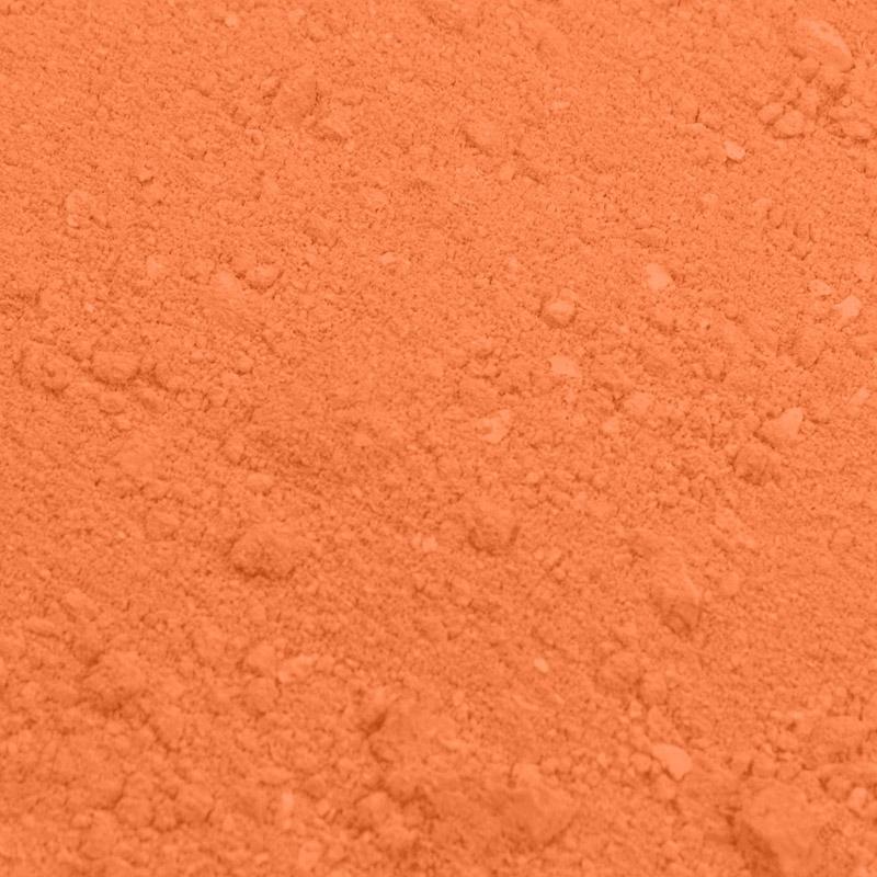 Colorante en polvo color calabaza