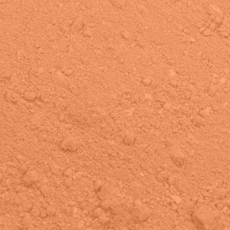 Colorante en polvo color salmón