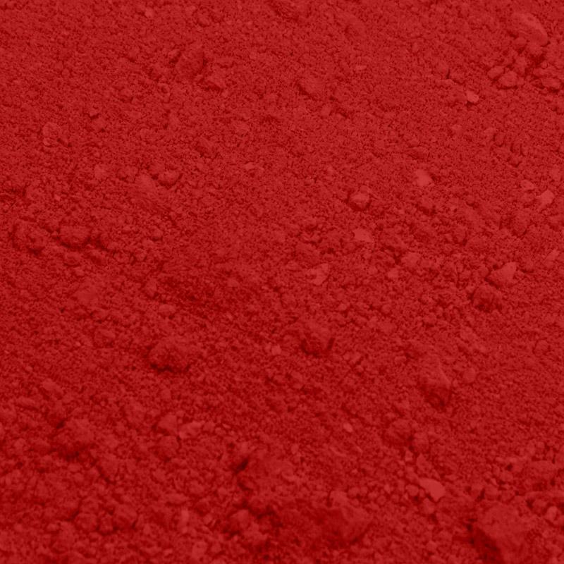 Colorante en polvo rojo amapola