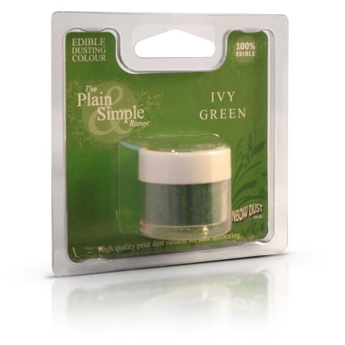 Colorante en polvo verde hiedra