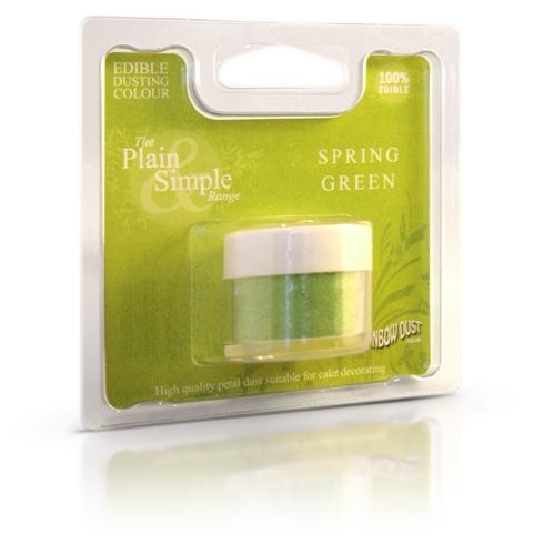 Colorante en polvo verde primavera