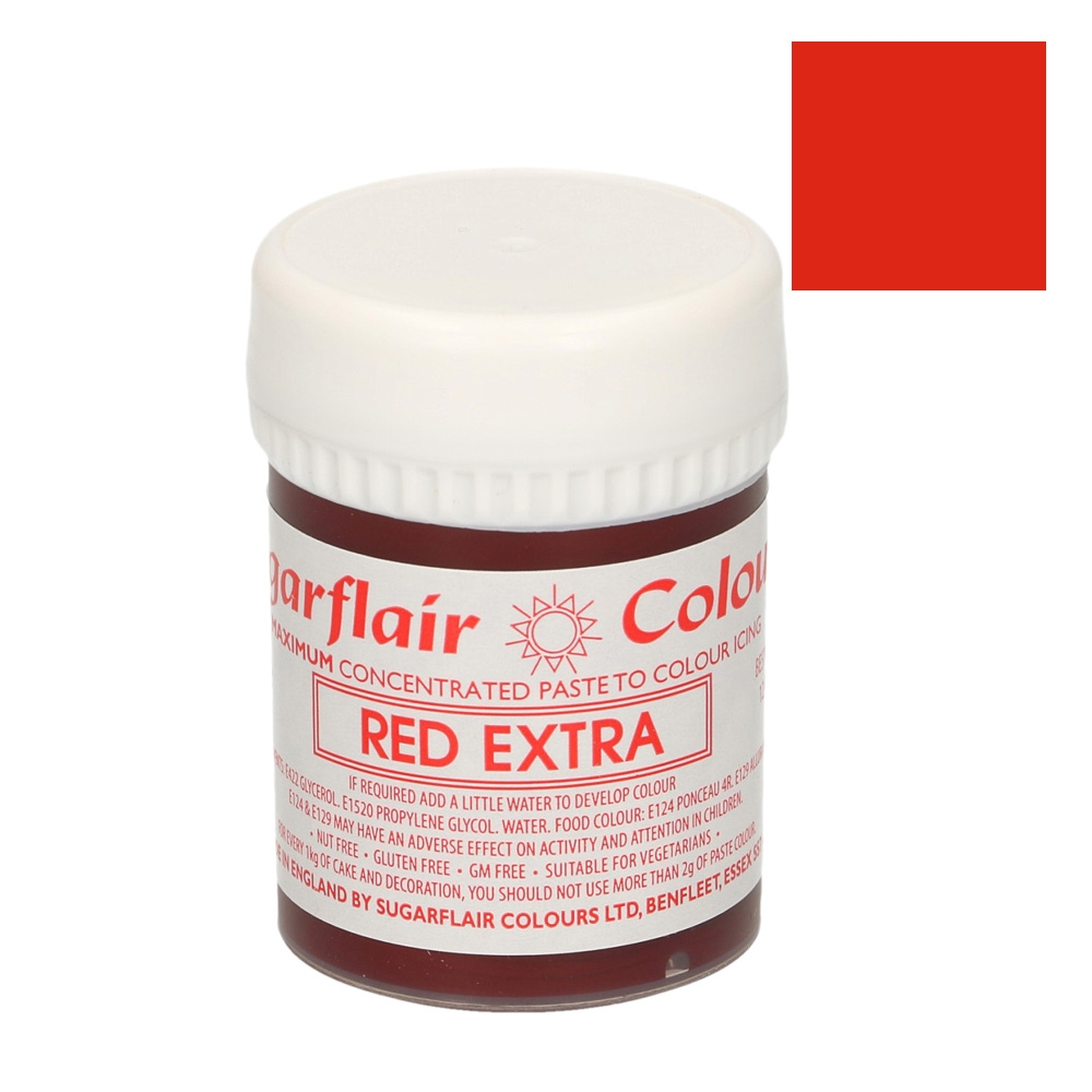 Colorante Sugarflair  EXTRA Rojo