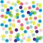 Confeti Círculos Multicolor