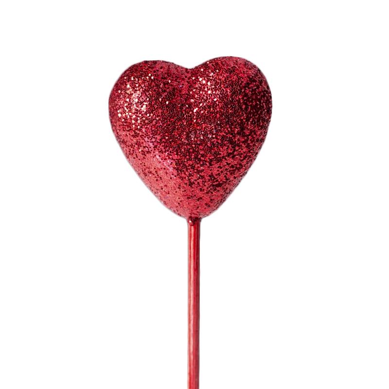 Corazón rojo para decorar tartas y dulces - My Karamelli
