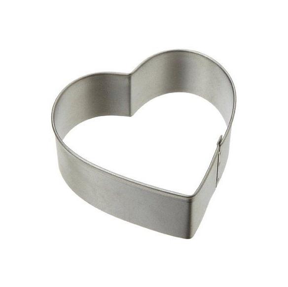 Cortador corazón metálico Wilton 7,5cm