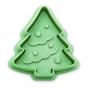 Cortador con Expulsor y Texturizador Árbol de Navidad