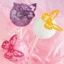 Set de 4 Cortadores Mariposas