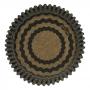 Cápsulas para Cupcakes Chevron Dorado y Negro 48 Unidades