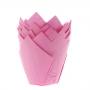 cápsulas para muffins color rosa