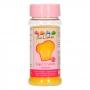 Cristales de azúcar amarillos