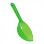 Cuchara de plástico en color verde kiwi para servir chuches