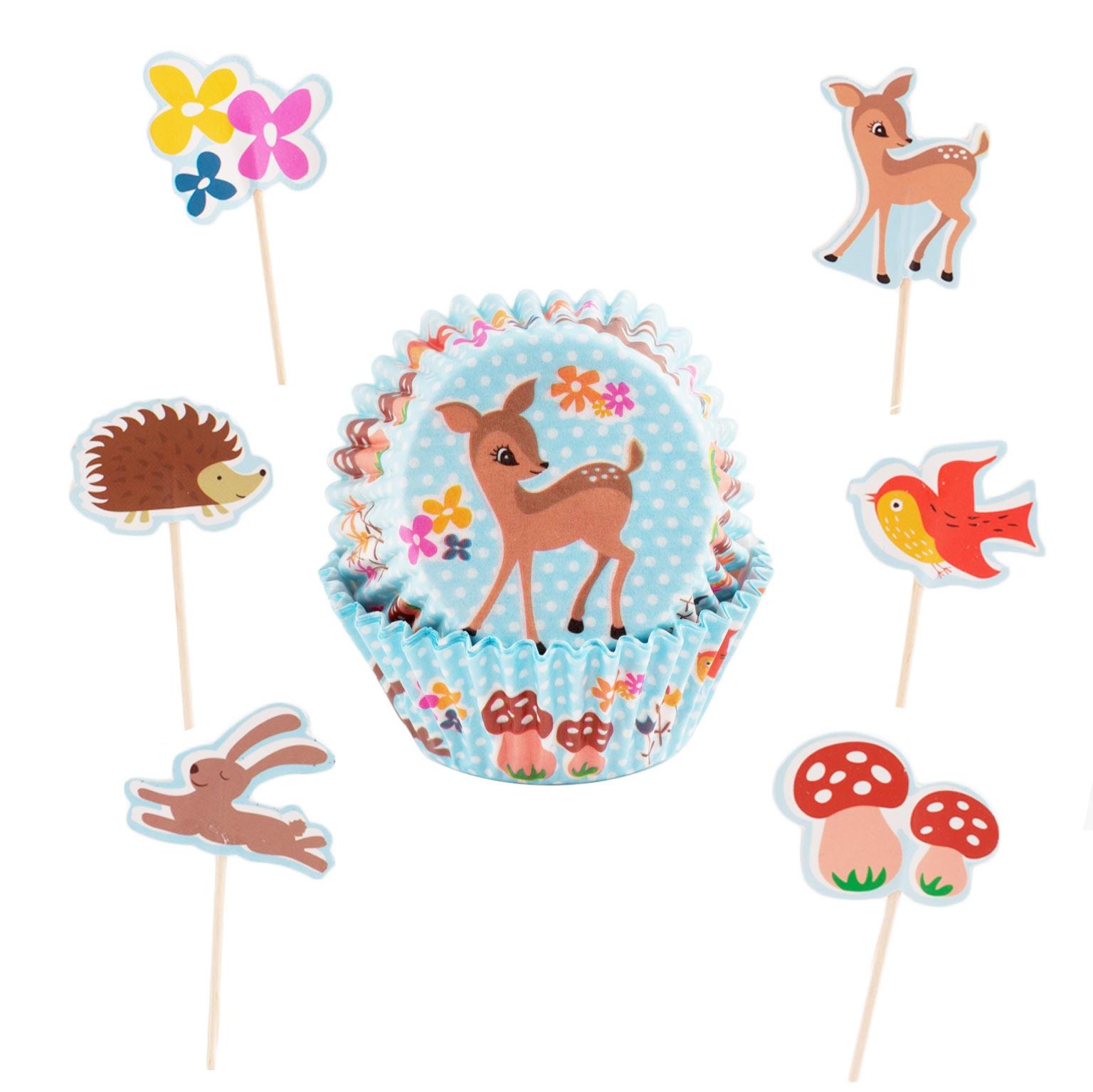 Cupcake Combo Bosque encantado