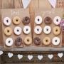 Set de 2 Stands verticales para donuts para poner en fiestas de 42 cm