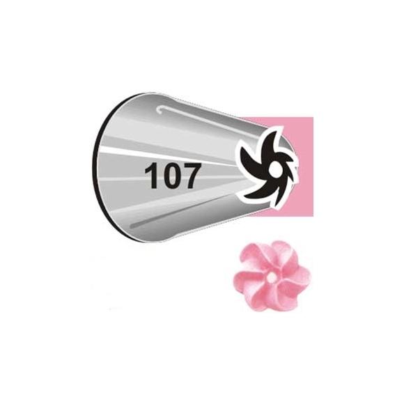 Boquilla #107 dropflower