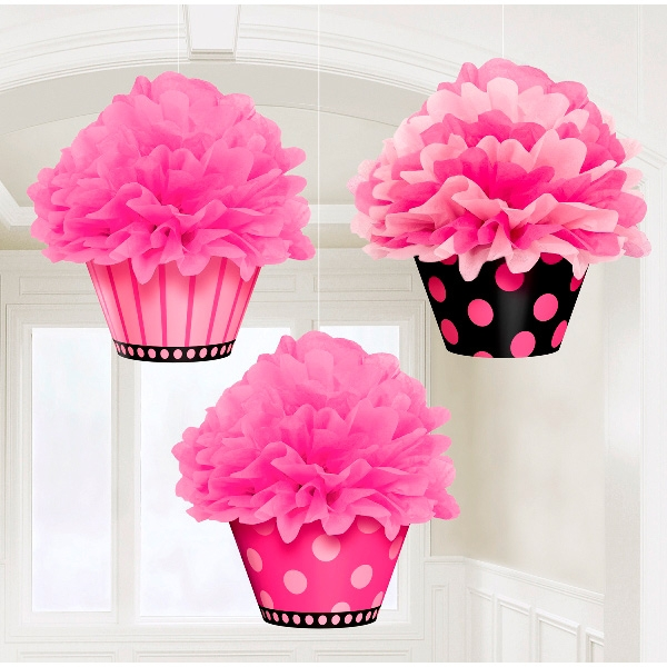 Decoración Colgante Cupcakes