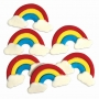 Juego de 6 Decoraciones de Azúcar Arcoiris PME
