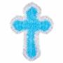 Decoración Cruz Azul 33 cm
