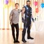 Decoración Photocall Thor Infinity War 190 cm