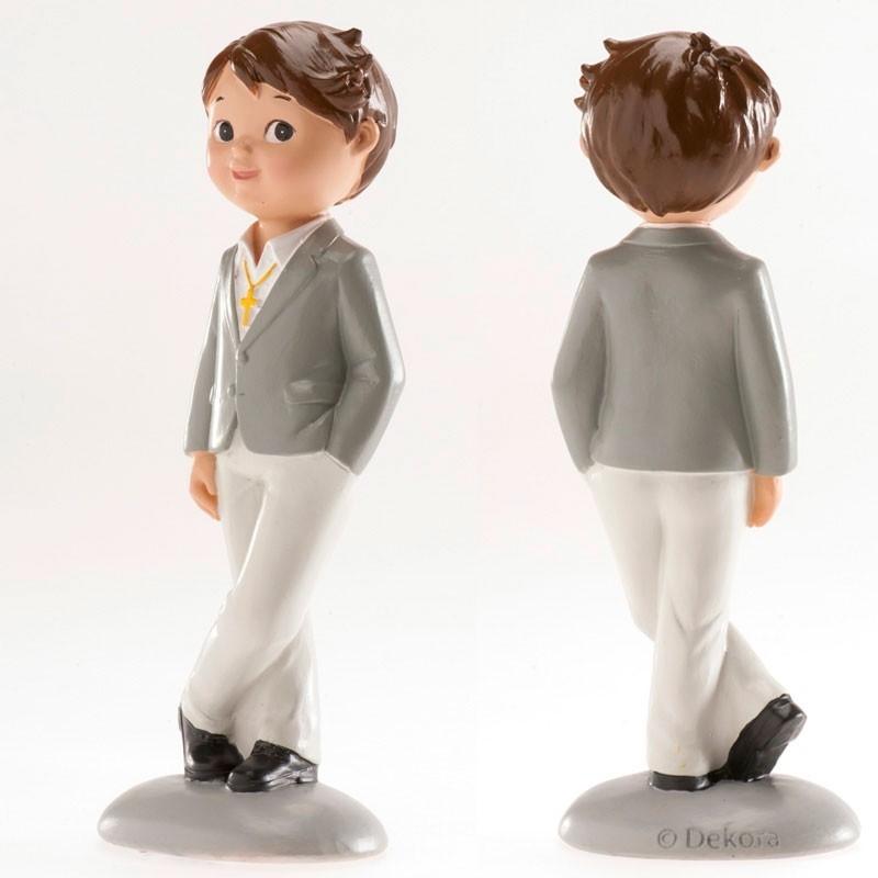 Decoración Niño de Comunión 14 cm