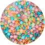 Decoraciones de Azúcar Flores Metalizadas 70 gr