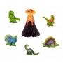 Set de 6 Decoraciones de Mesa Dinosurios