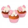 Decoraciones de Azúcar Pies de Bebé Rosa