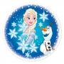 Disco de azúcar Frozen 16 cm