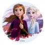 Disco de Oblea Frozen 2 Elsa y Anna 20 cm