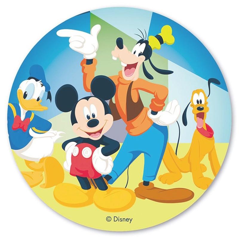 Disco de oblea Mickey Mouse 20 cm