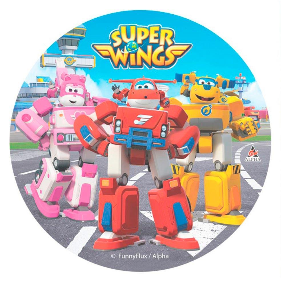 Disco de Oblea Super Wings Modelo A