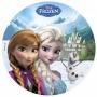 Impresión Comestible Elsa y Anna 20cm