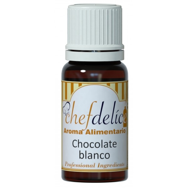 Aroma concentrado de Chocolate Blanco Chef Delice