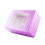 Pack de 2 Cajas para 6 Cupcakes Extra Alta Violeta