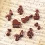 Molde para chocolate Música