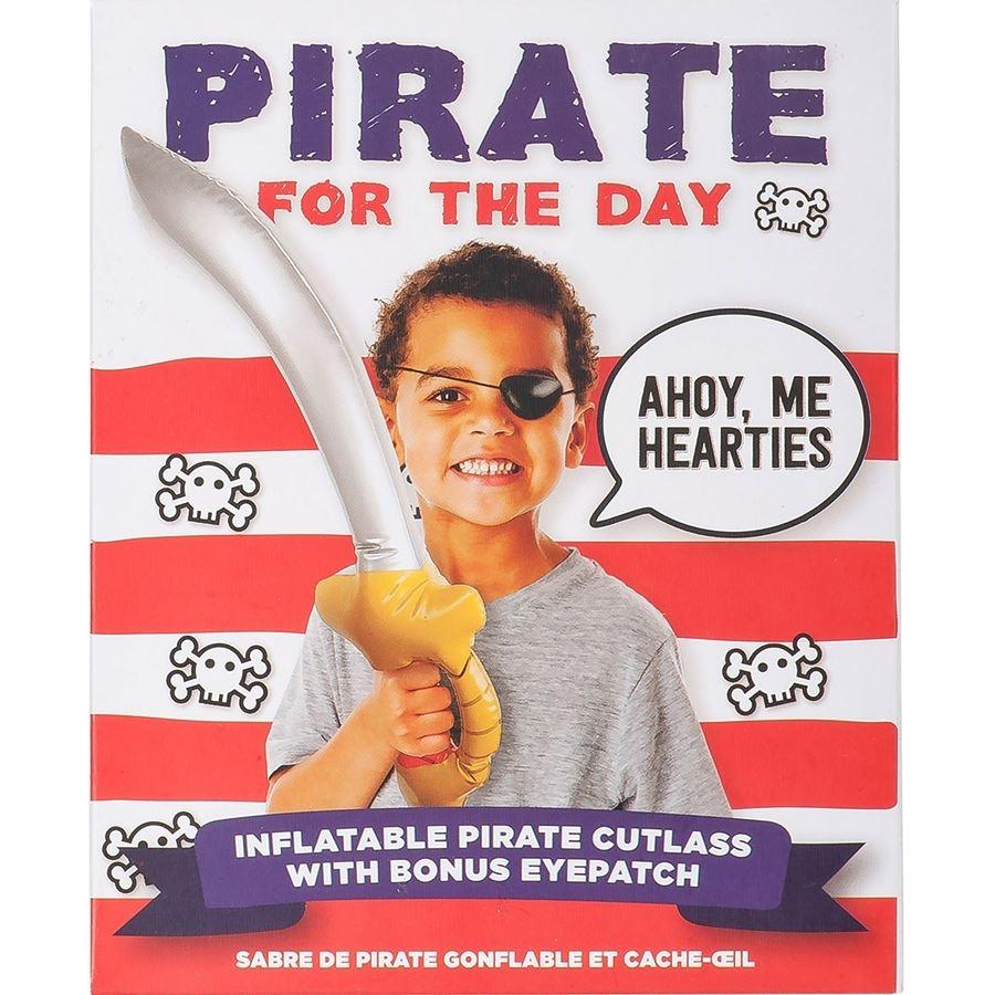 Espada Pirata inflable con parche