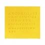 Estampador Letras Maýusculas y Minúsculas 52 piezas Modelo B - PME