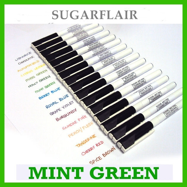 Rotulador comestible Sugarflair Verde Menta