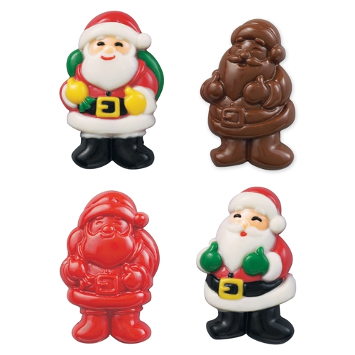 Molde para Chocolate Happy Santa