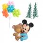 Kit para Decorar Tartas Mickey Bebé