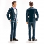Figura de Boda Hombre con Traje Azul 16 cm