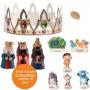 Figuras Roscón de Reyes Dora 8 piezas