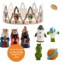 Figuritas Roscón de Reyes Viaje Espacial 7 piezas
