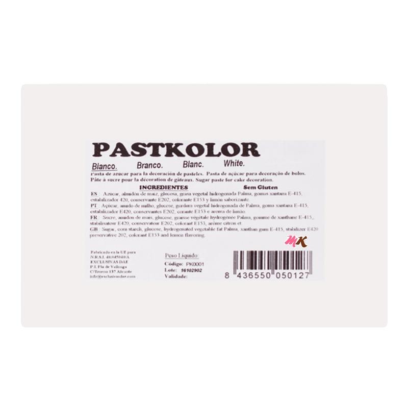 Fondant PastKolor Blanco 1Kg - My Karamelli